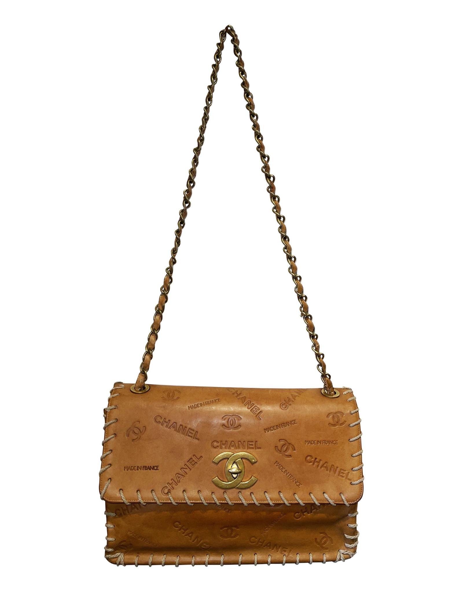 Wyld Blue Vintage Chanel Large Western Bag 2