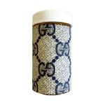 Sarah Coleman Designer Grey Monogram Pill Bottle Small