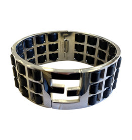 Fendi Fendi Fendista Weave Bangle