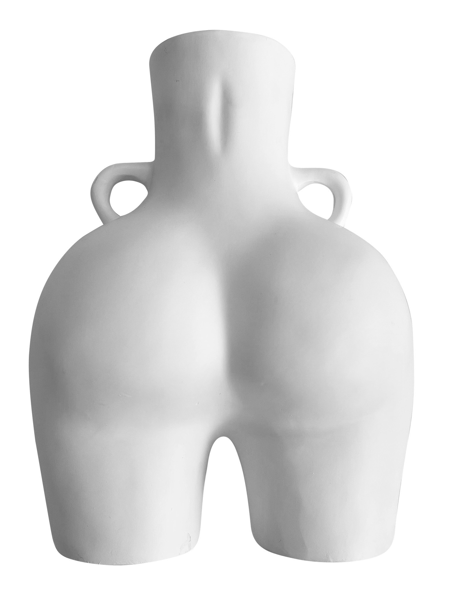 Wyld Blue Nude White Vase Hips
