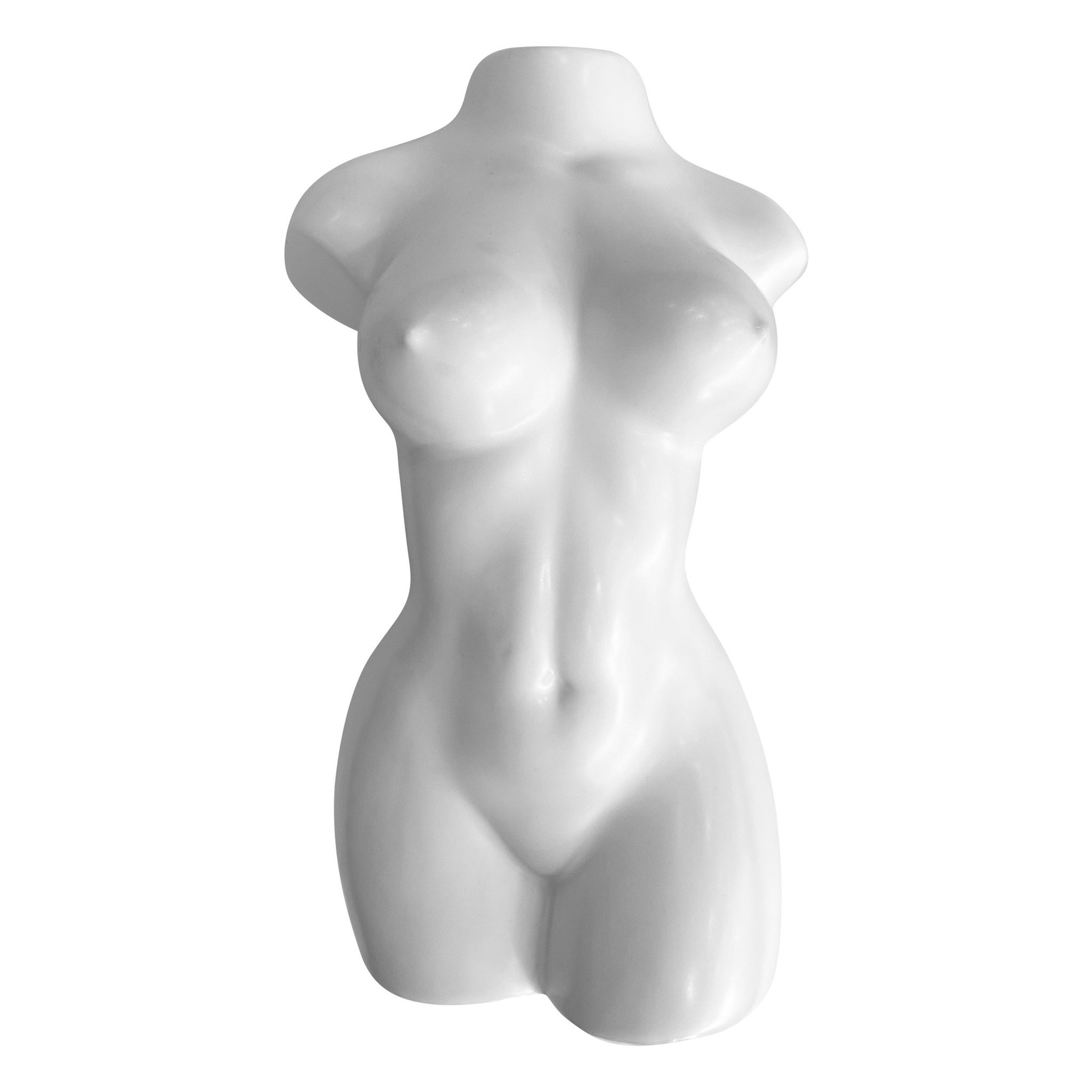 Wyld Blue Home Nude Woman White Vase