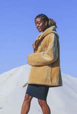 Therma Kota Silja Reversible Shearling Jacket Gingersnap