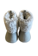 Wyld Blue Baby Carter Ugg Boots Grey