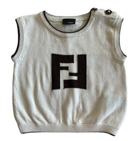 Wyld Blue Kids Baby Fendi Sweater