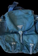 Wyld Blue Vintage Dark Green Prada Backpack