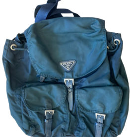 Wyld Blue Vintage Dark Green Prada Backpack