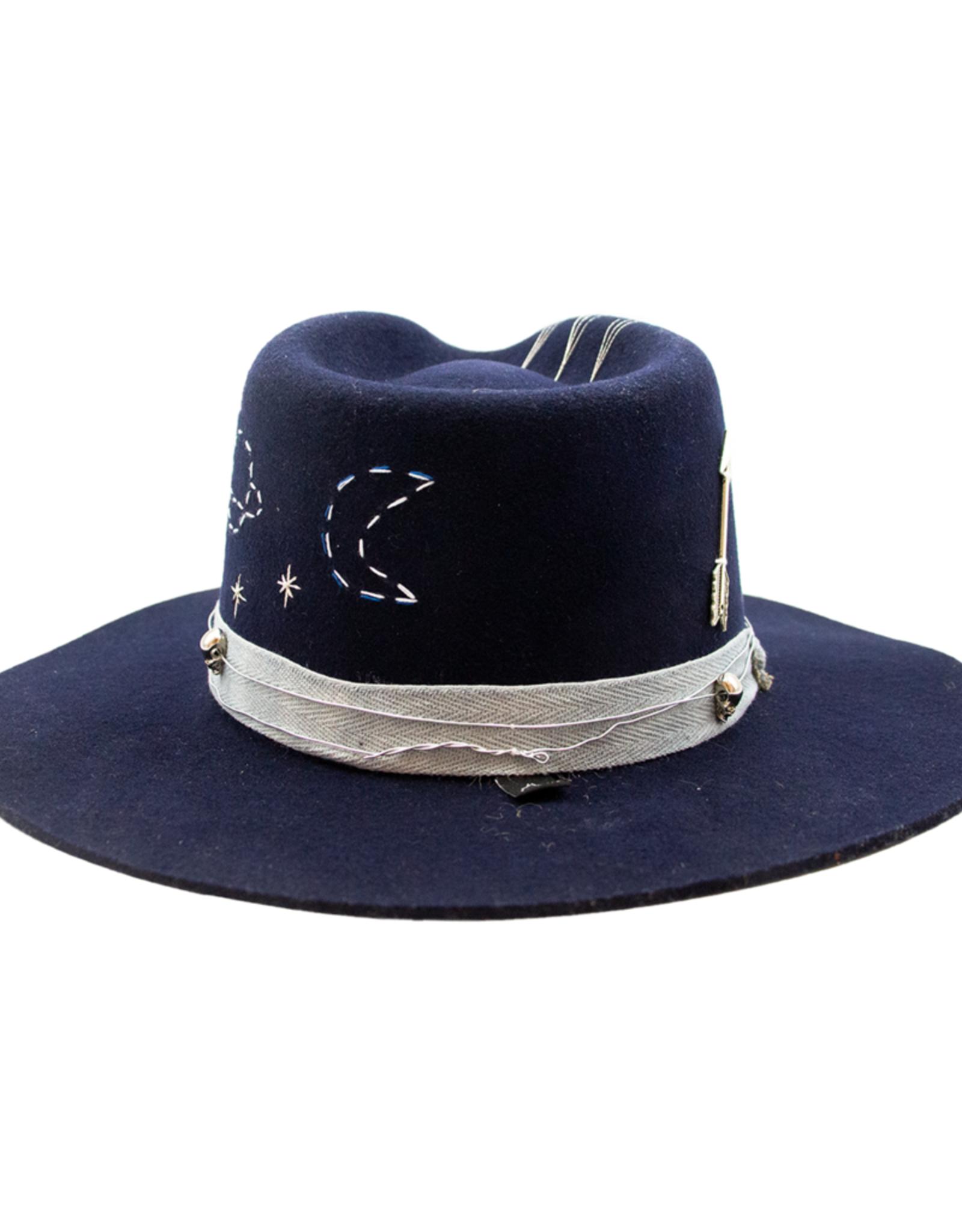 """Tuluminati Nakawe """"Owner of stars"""" Hat Navy"""
