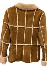Wyld Blue Vintage Chanel Fur Detailed Jacket