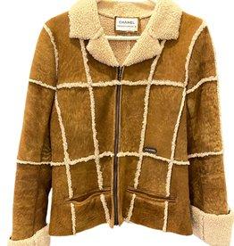 Wyld Blue Vintage Vintage Fur Detailed Jacket