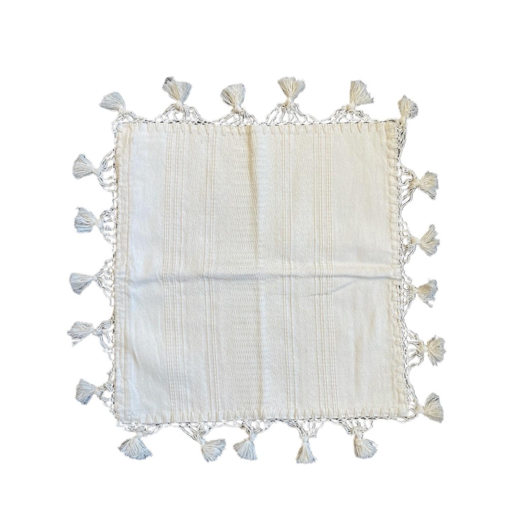 Wyld Blue Home Tulum Pillowcase Cream