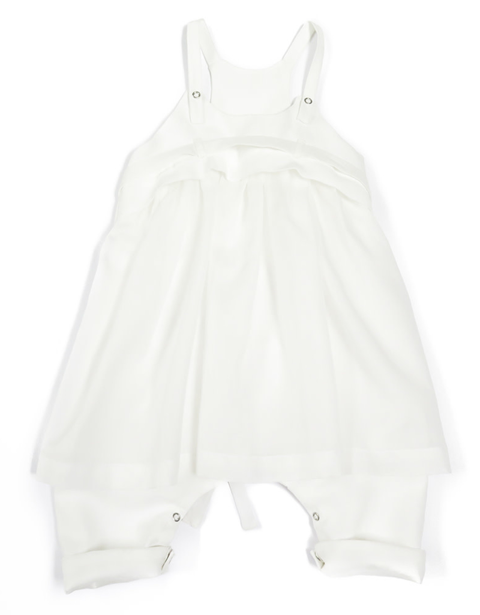 Anja Schwerbrock Oda Baby Overall White