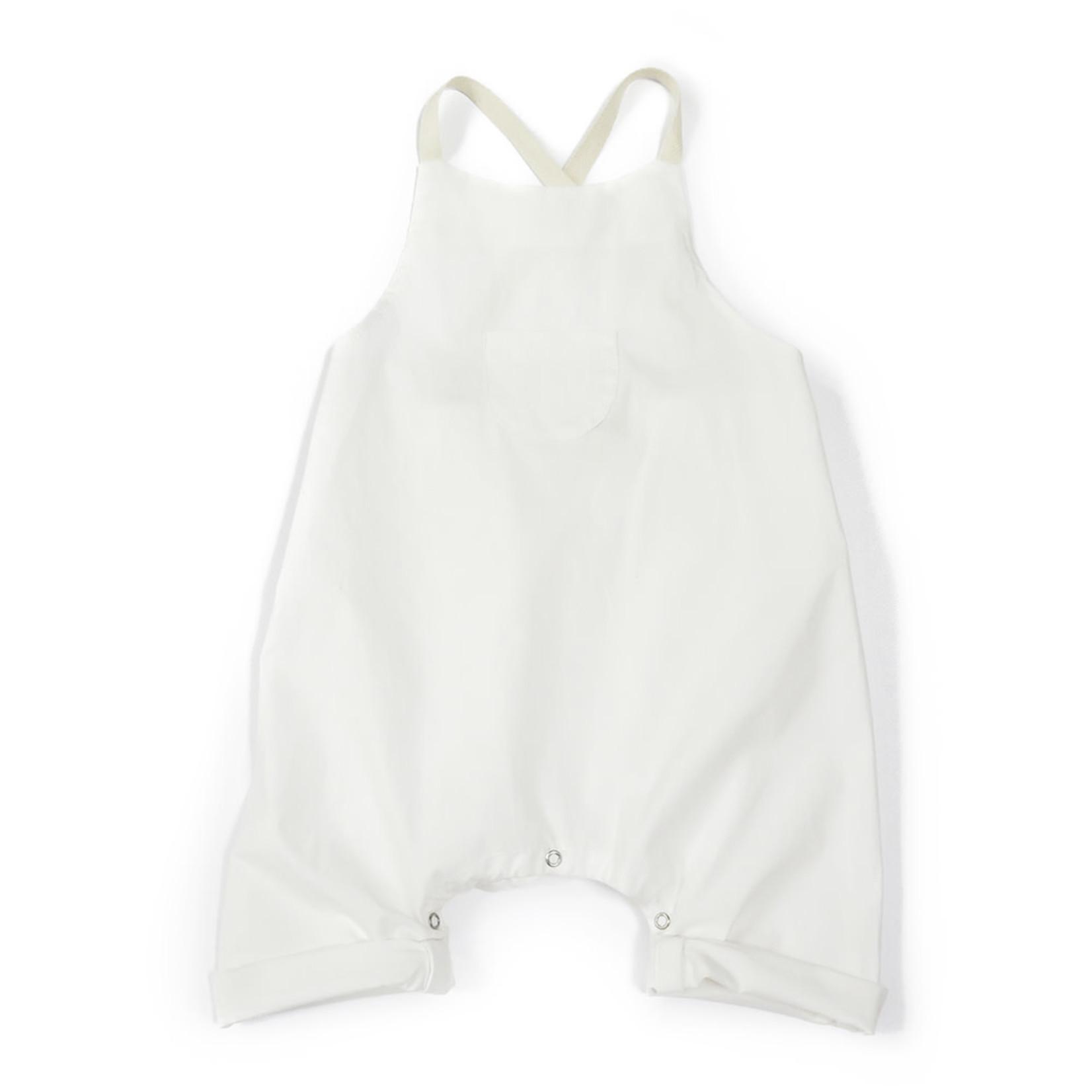 Anja Schwerbrock Oreto Overall with Pocket White