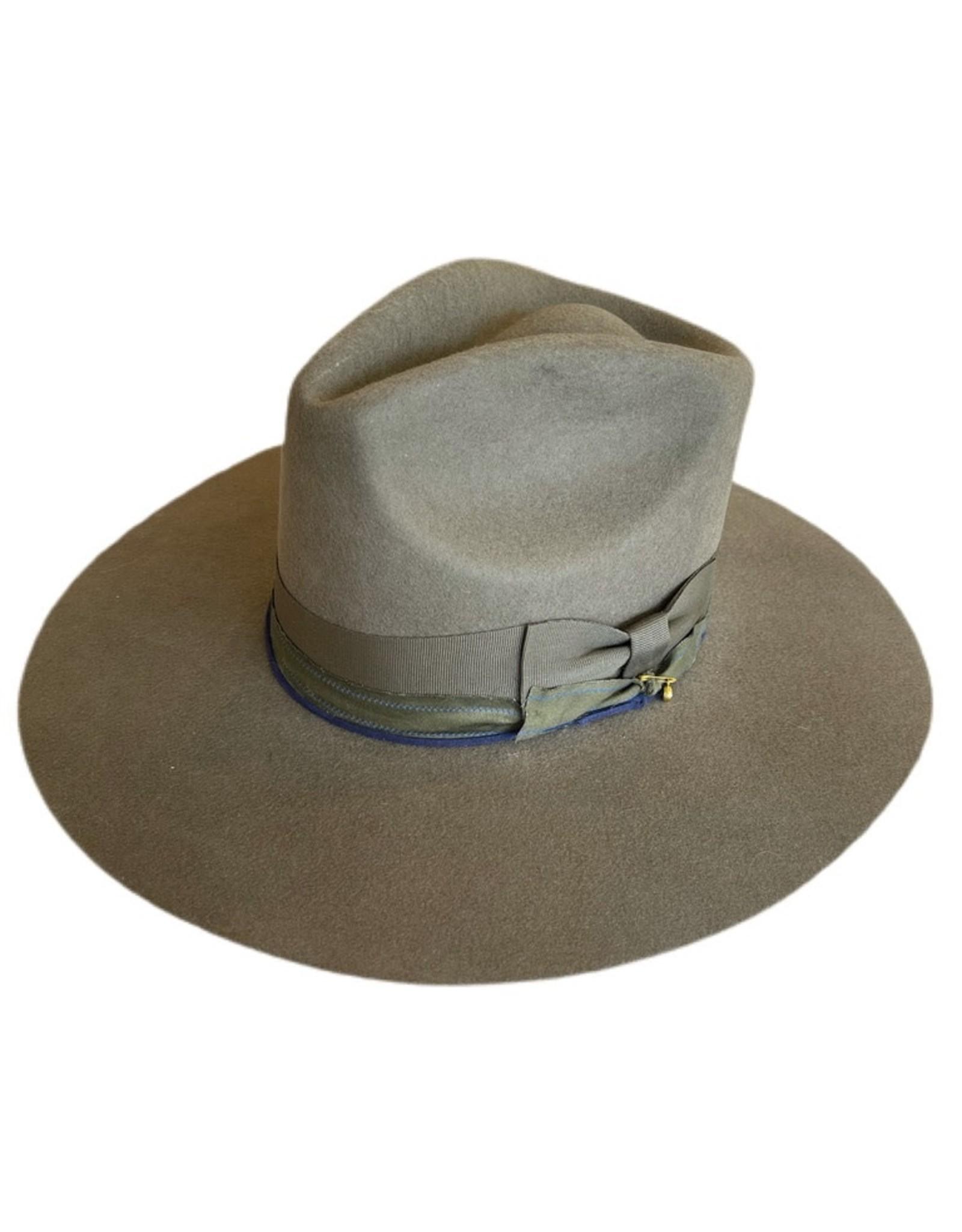 Modern Monarchie Albert Hat Olive
