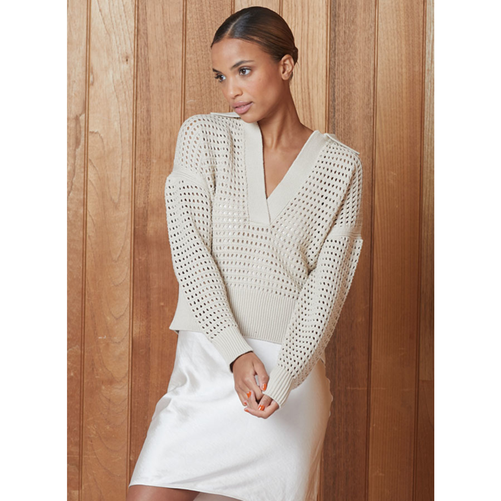 DH New York Khloe Pullover White
