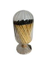 Wyld Blue Home Helix Match Cloche Black Tipped Matches