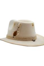 Tuluminati Amadis Hat White with Washed Details