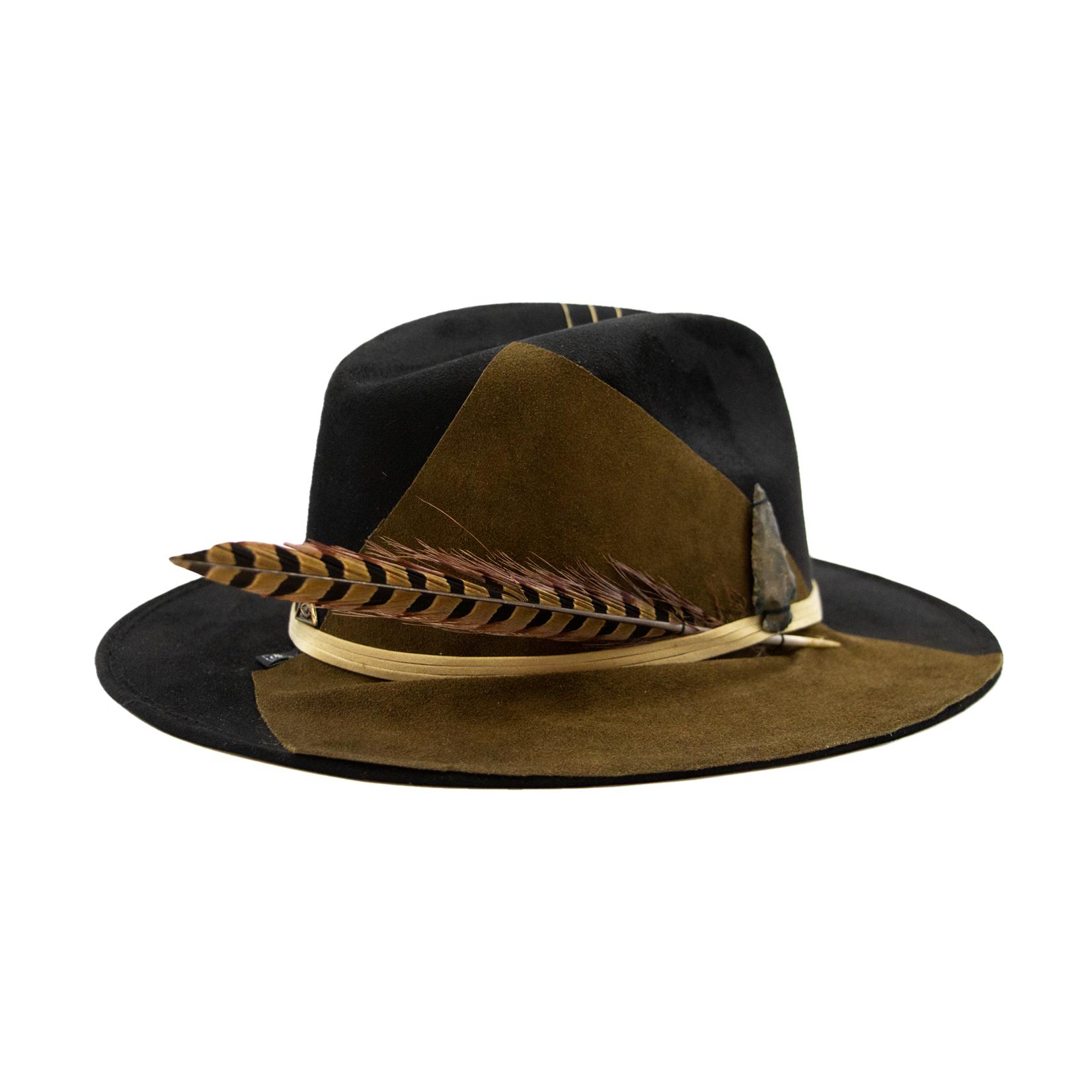 Tuluminati Tekiwa Suede Hat Black