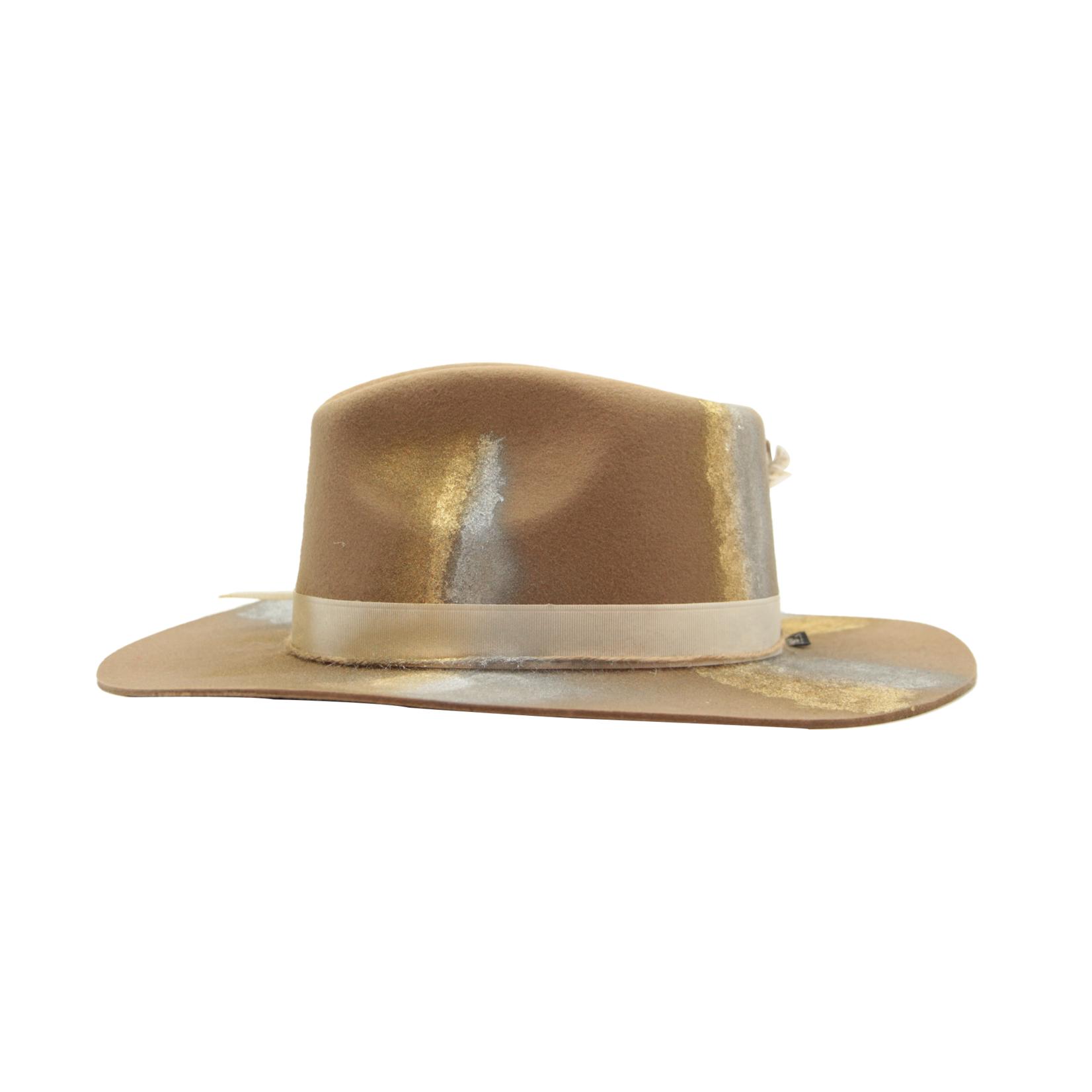 Tuluminati Kin Hat Brown Wool