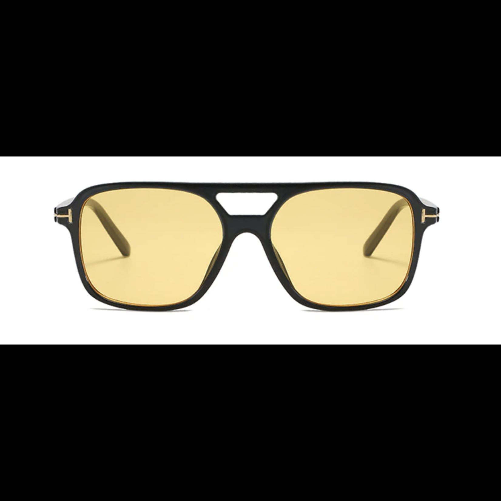 Wyld Blue Aviator Colored Lens Sunglasses