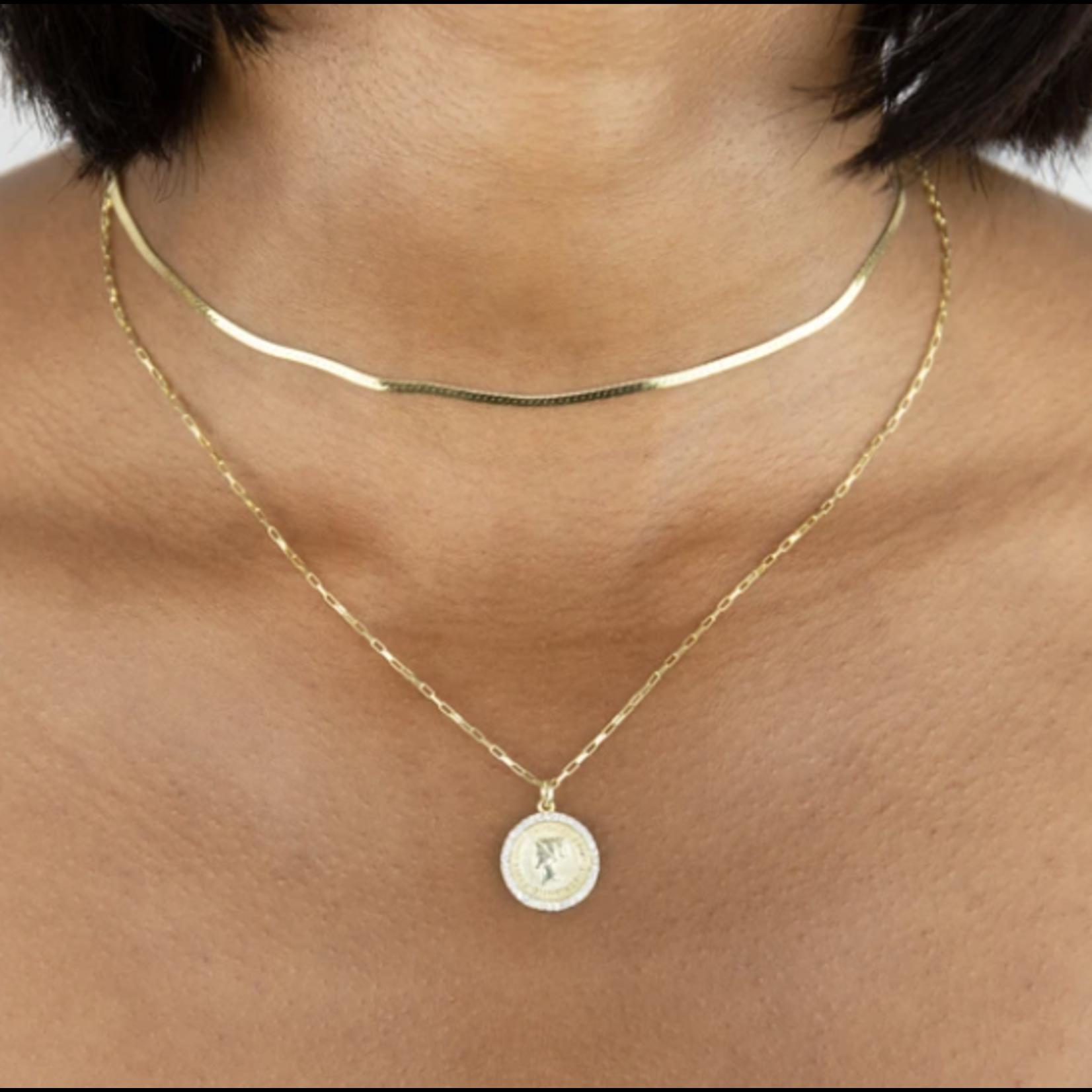 Adinas Snake Chain Necklace
