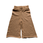 The Simple Folk The Wide Leg Knit Trouser - Caramel