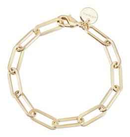 Eklexic Large Elongated Chain Link Bracelet