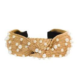 Adriana Pappas Pearl Dot Headband