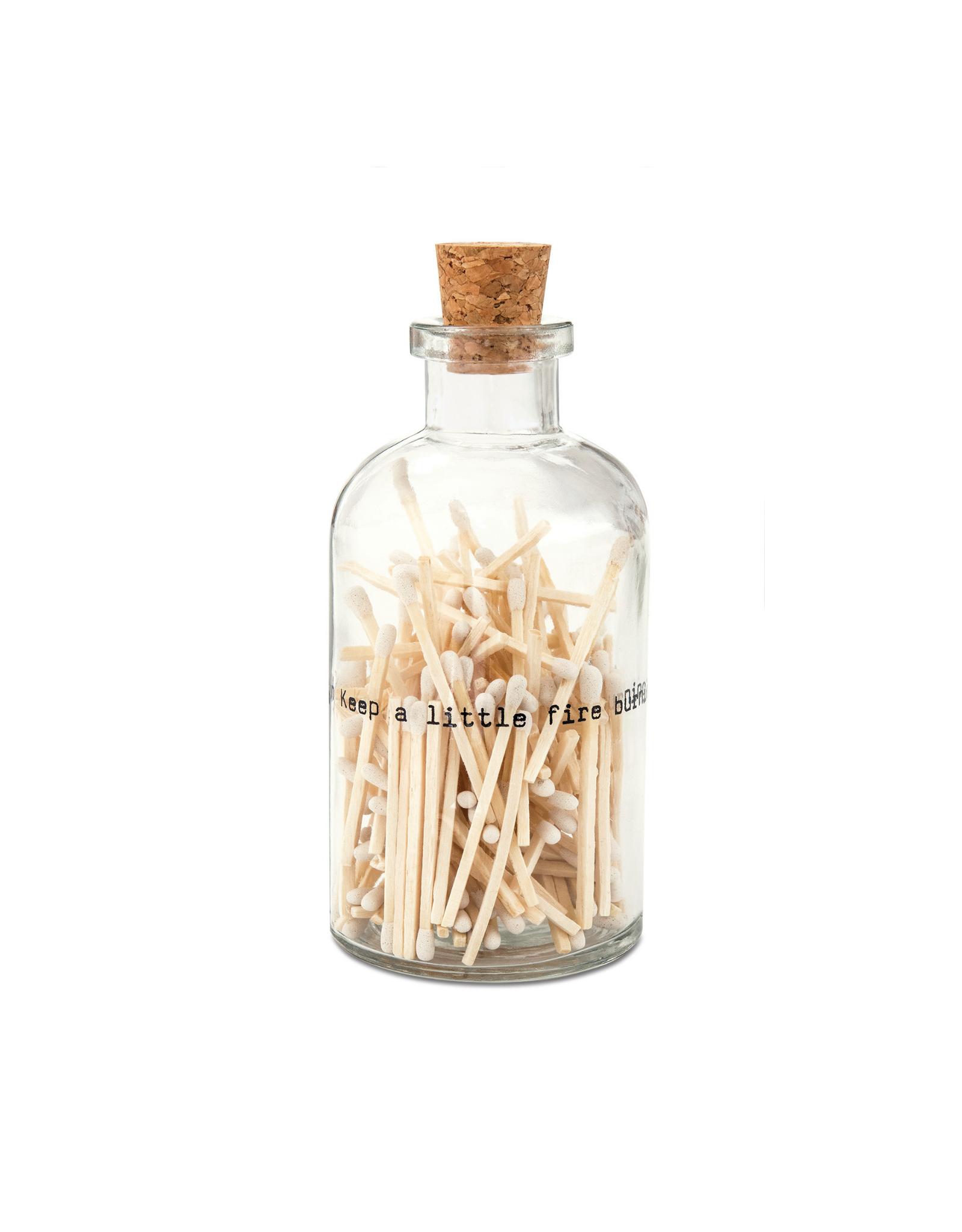 Skeem Design Apothecary Match Bottle