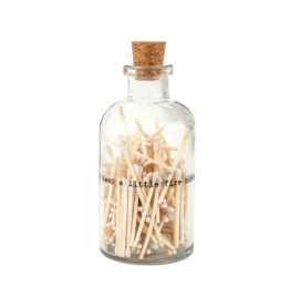 Skeem Design Apothecary Match Bottle