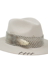 Tuluminati Quetzal Real Hat White Wool