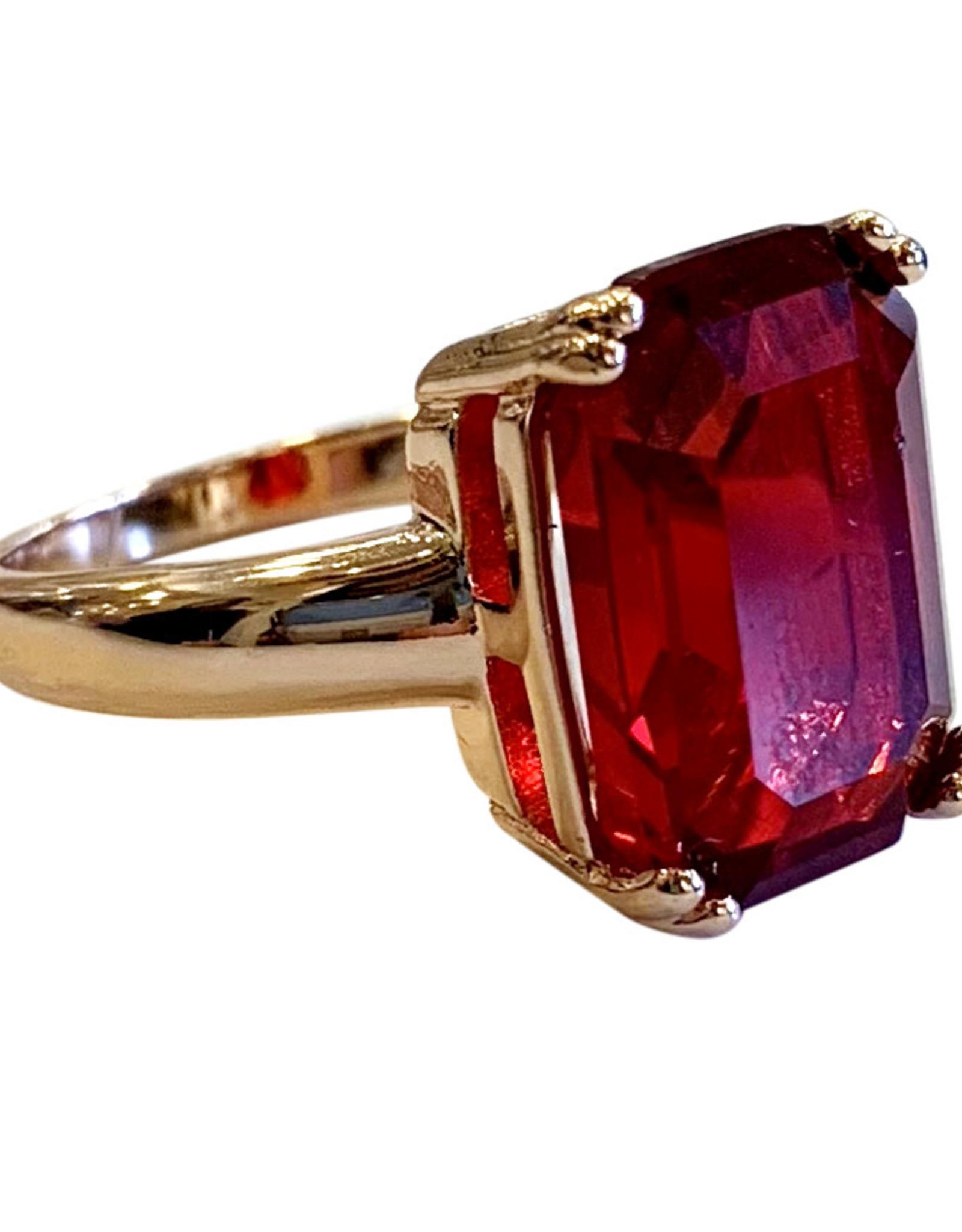 Wyld Blue Ruby Ring