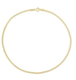 Adinas Cuban Anklet Gold