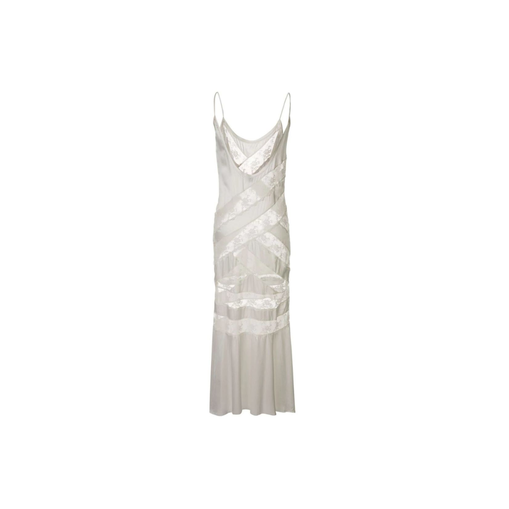 Sir. The Label Aries Panel Dress - White