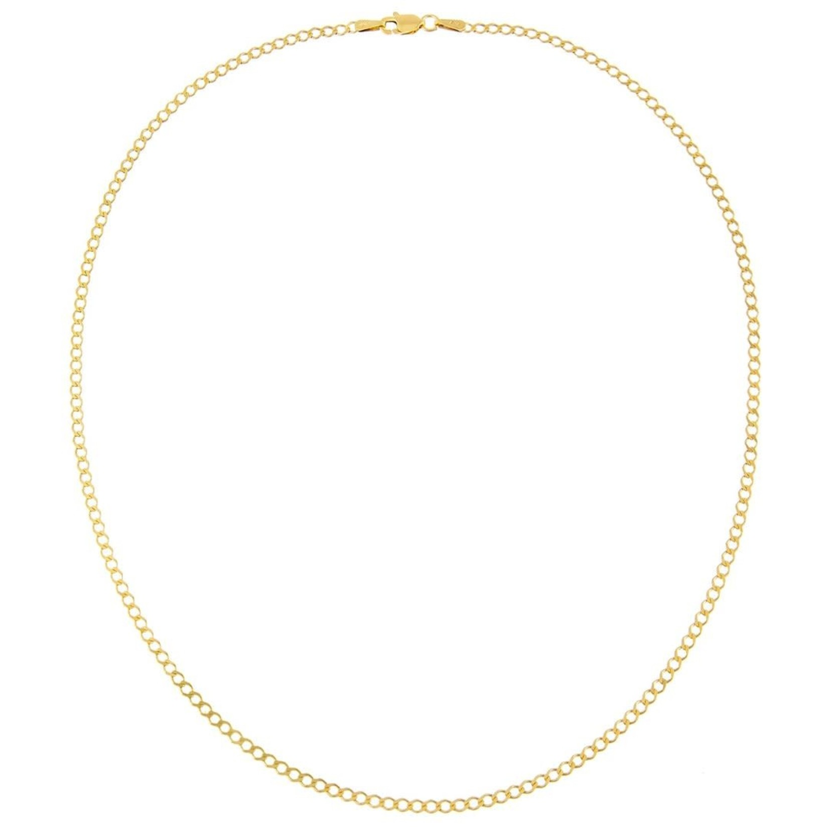 Adinas Cuban Flat Necklace