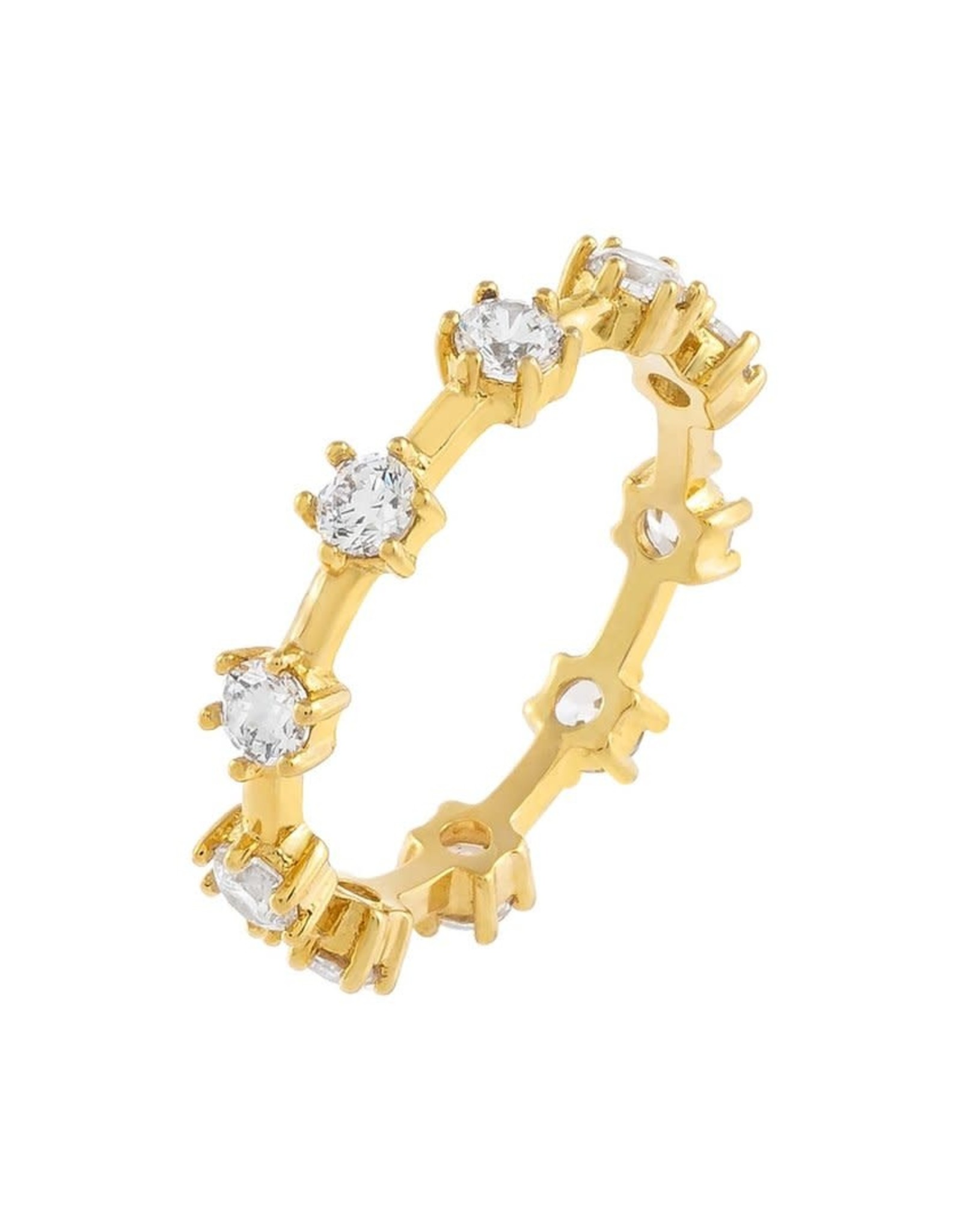Adinas CZ Colored Multi Stone Ring
