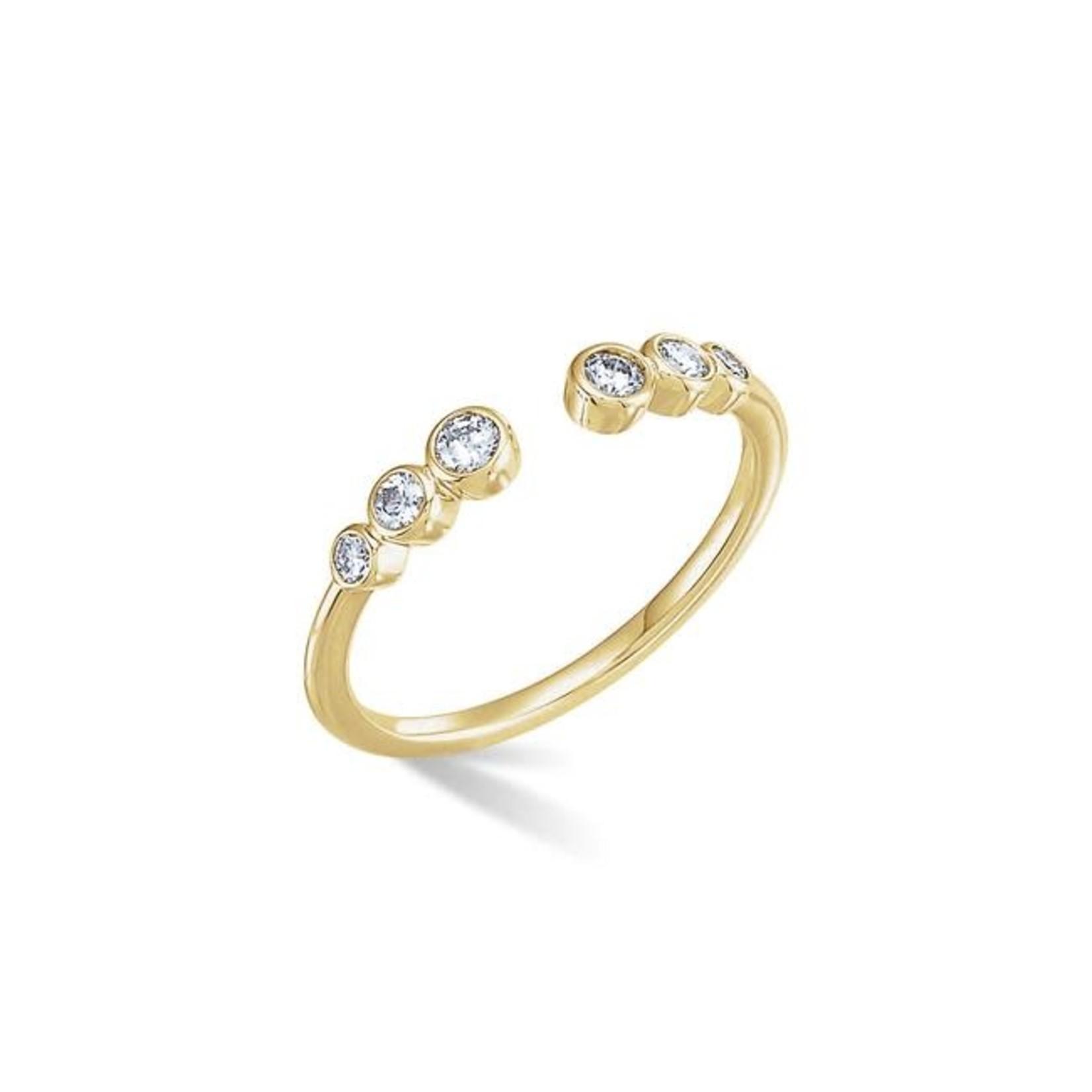 KBH Jewels Open Bezel Ring
