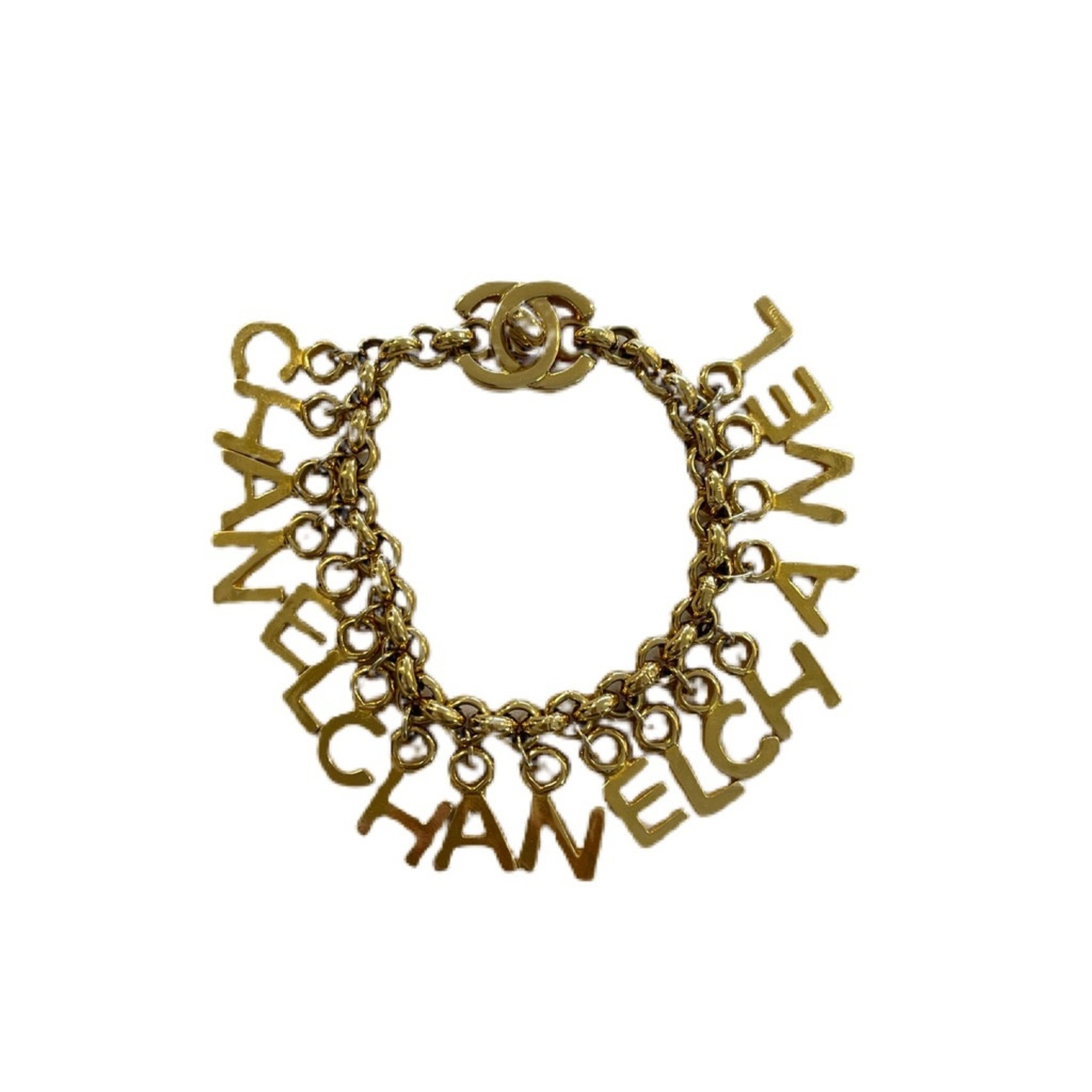 Wyld Blue Vintage Dangly Charm Bracelet