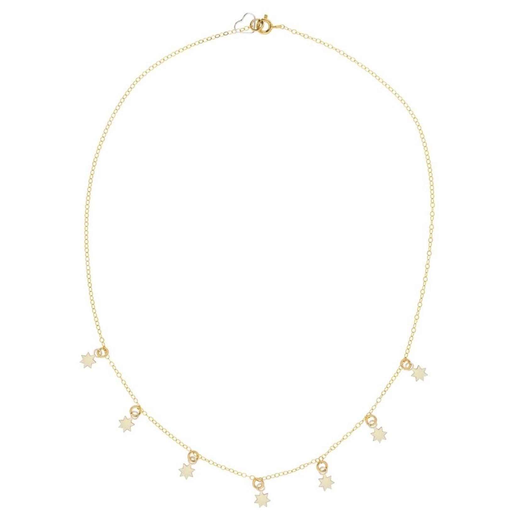 Elvis et Moi Seven Stars Necklace