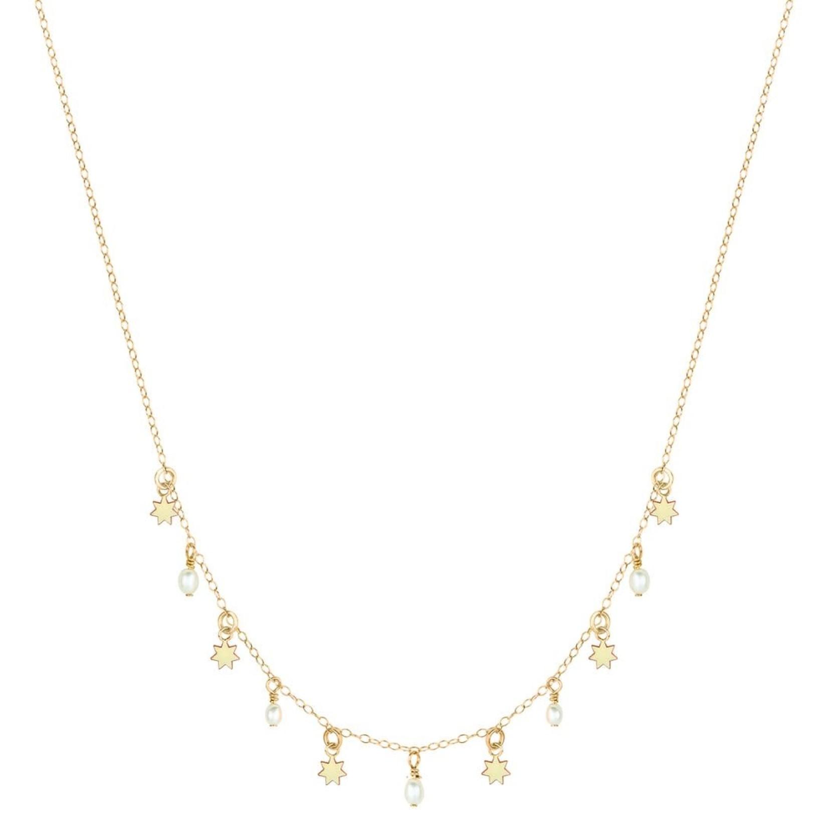 Elvis et Moi Seven Stars Pearl Necklace