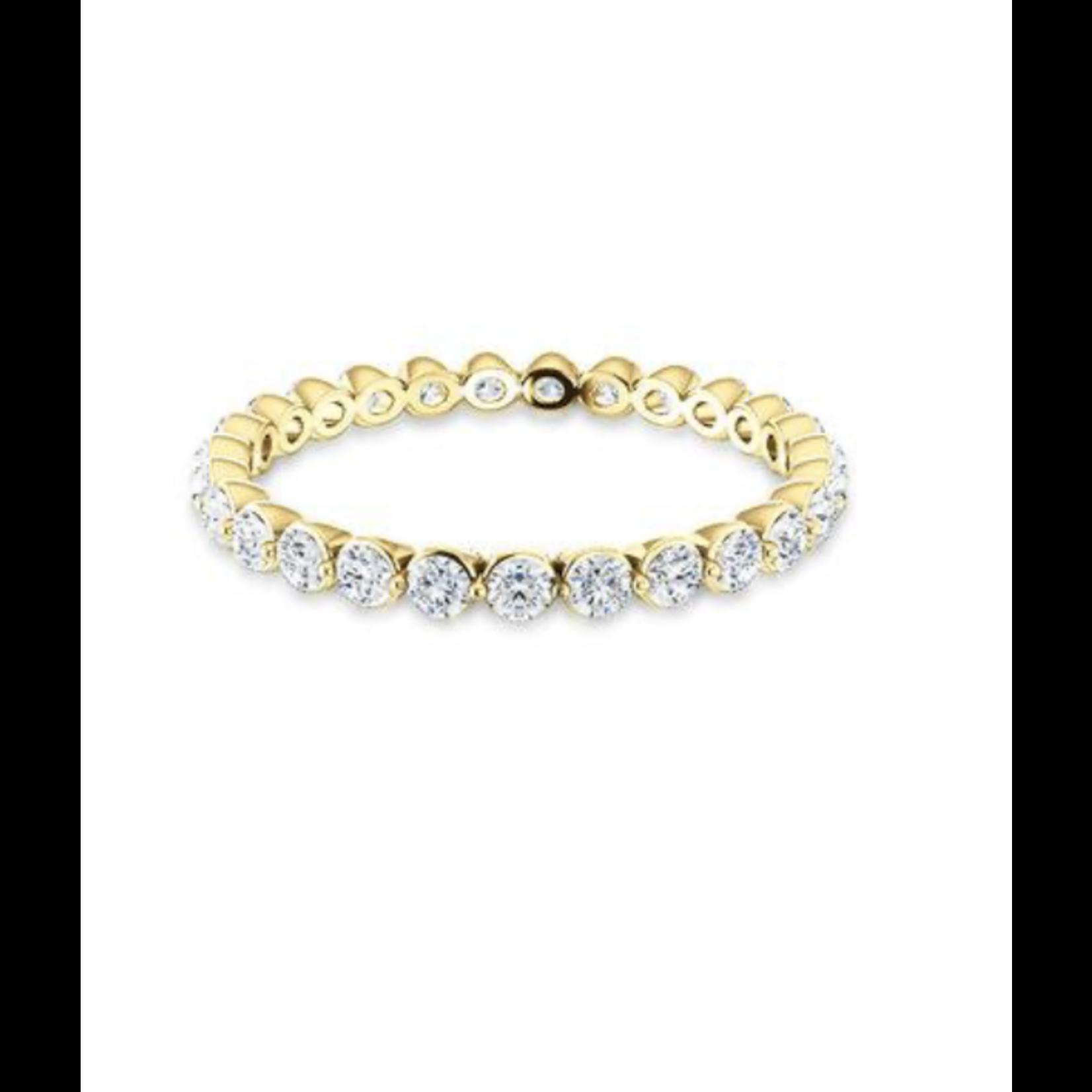 KBH Jewels Diamond Bezel Magnum Ring