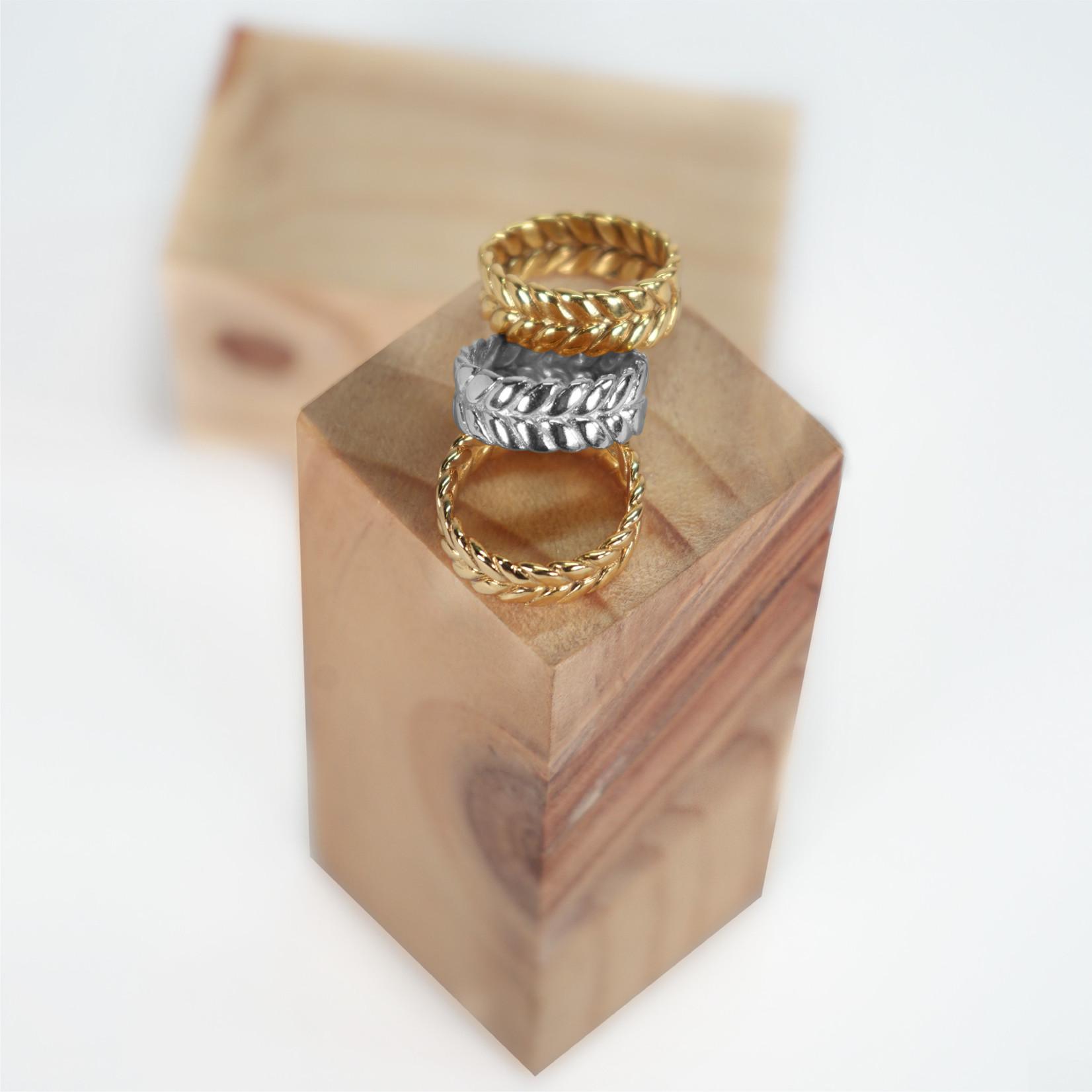 Hasta el Cogote Braid Ring