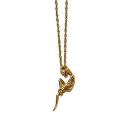 Hasta el Cogote Ballerina Necklace