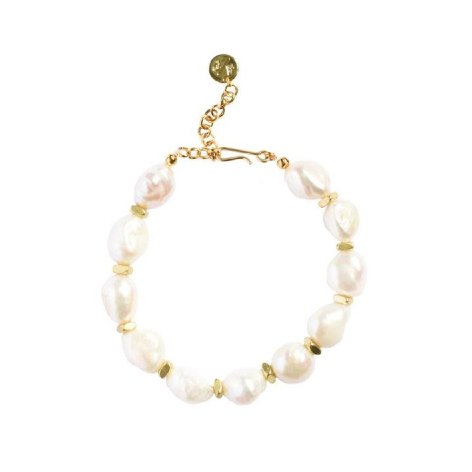 Adriana Pappas Pearl Nugget Bracelet