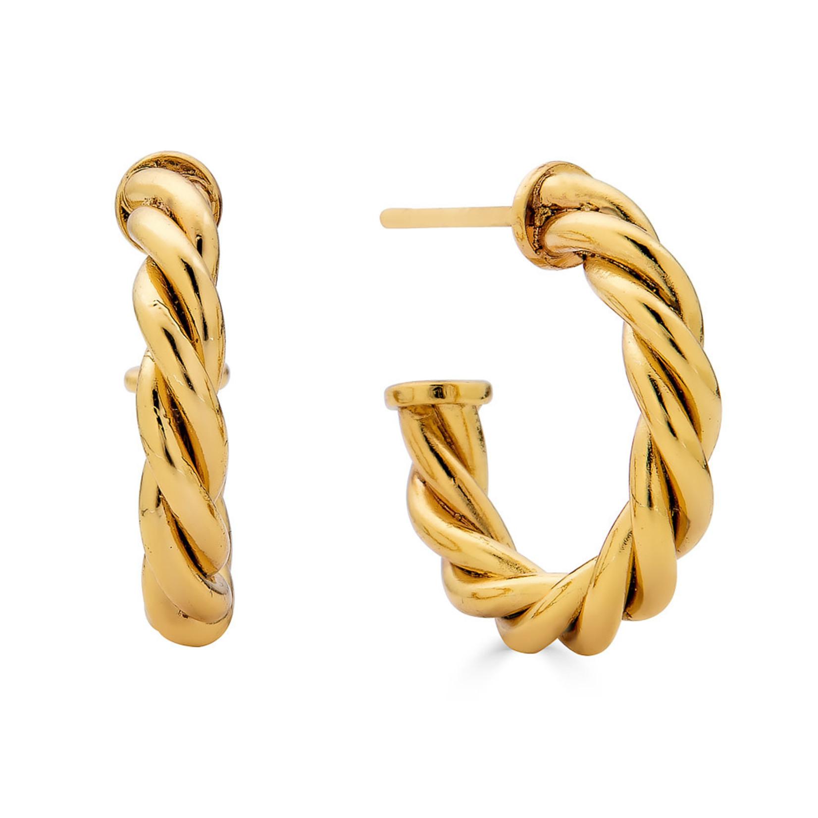 Rendor Kim Hoop Earrings