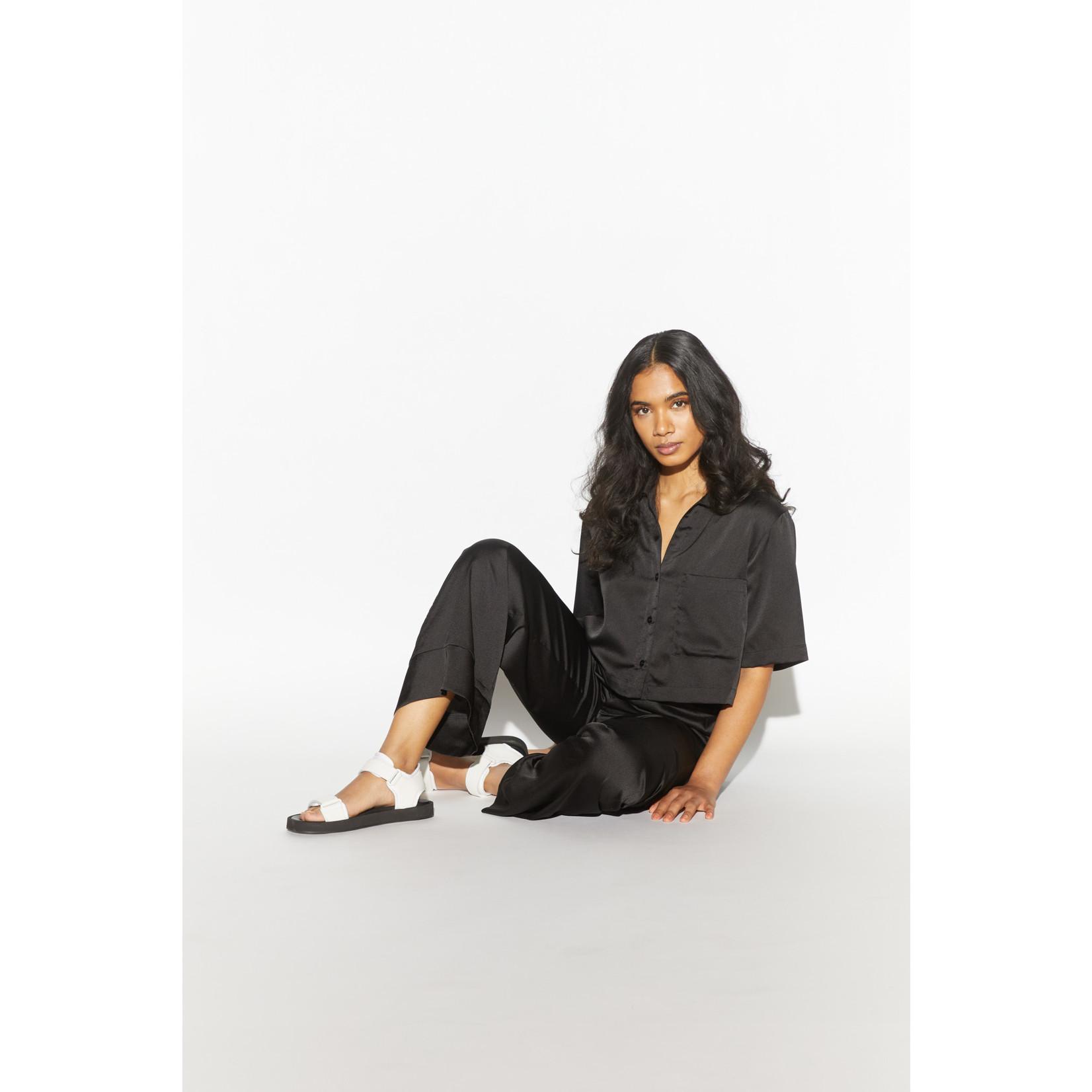 Apparis Sandra Wide Leg Pant Noir