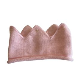 Wyld Blue Kids Baby Knit Crown Pink