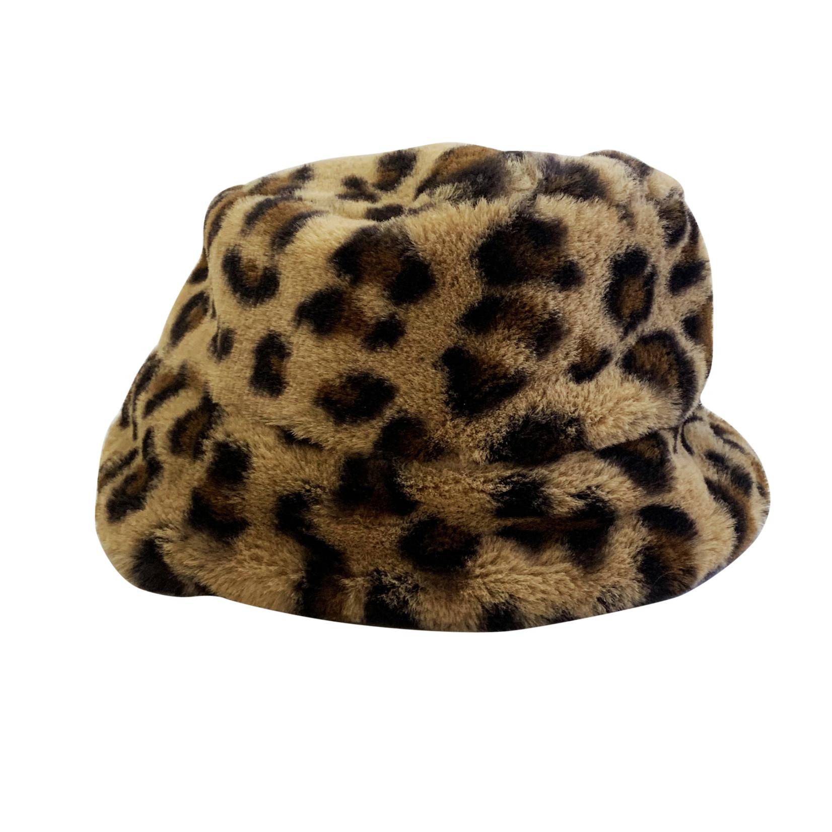 Wyld Blue Kids Fur Kids Bucket Hat