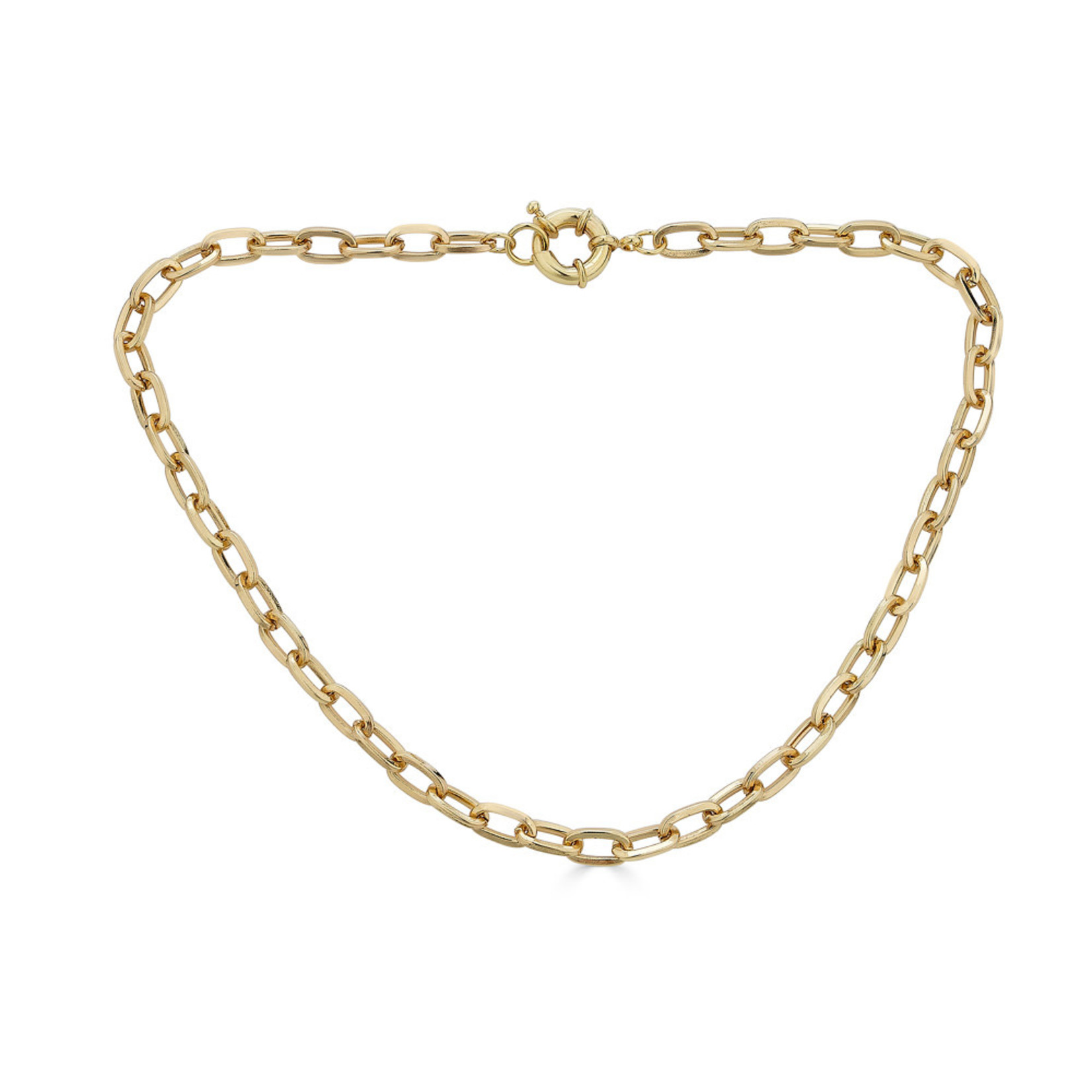 Rendor Khris Thick Link Necklace
