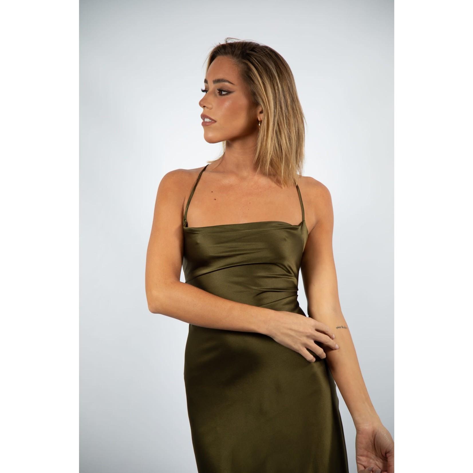 Eliana Viera Angel Silk Dress