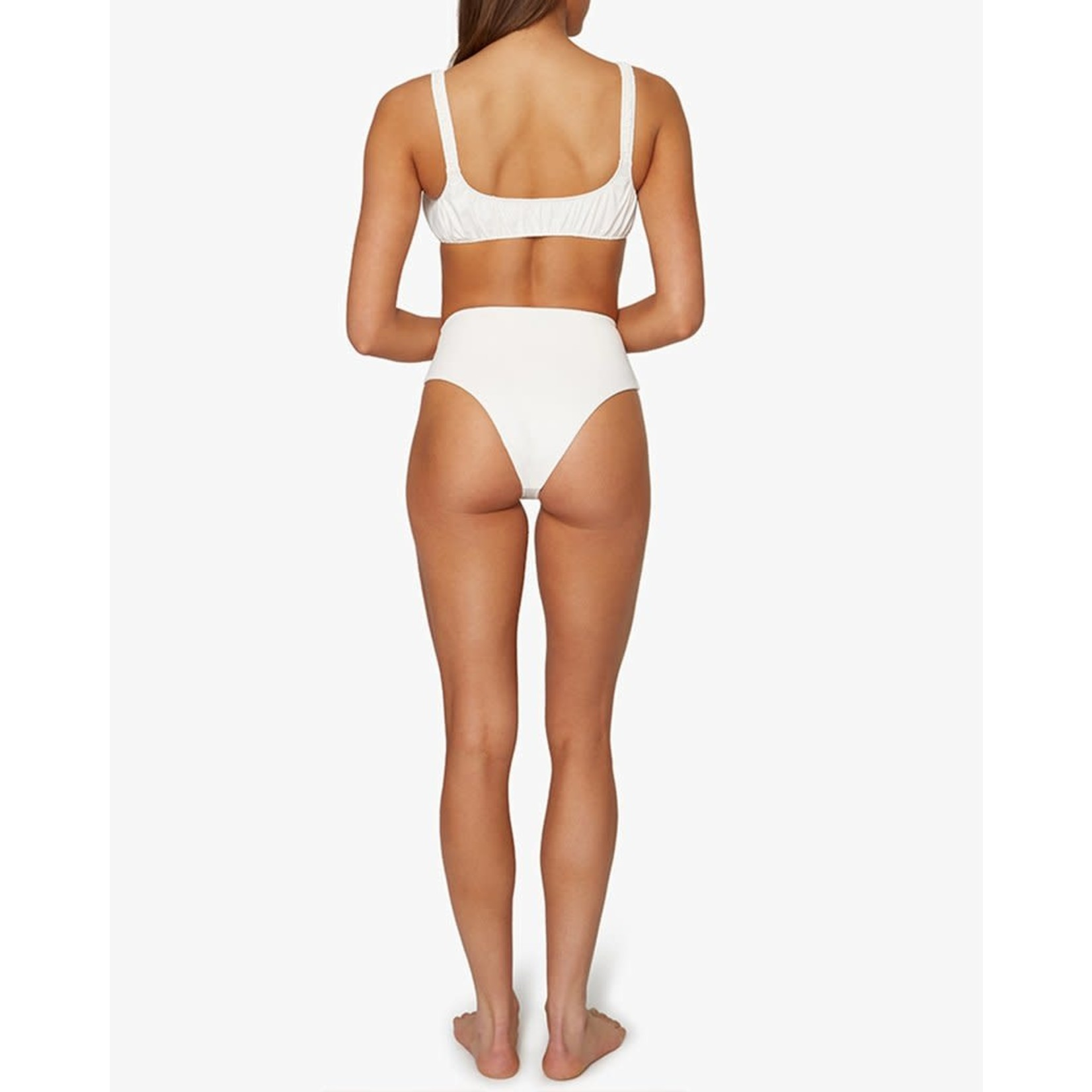 Shop WeWoreWhat Scrunchie Bikini Top